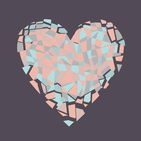 shards: a broken heart Illustration