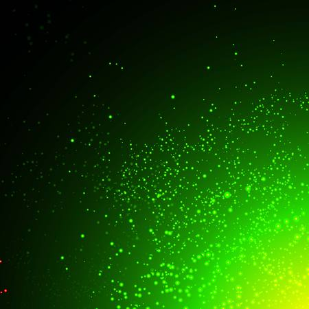light emission: Green space