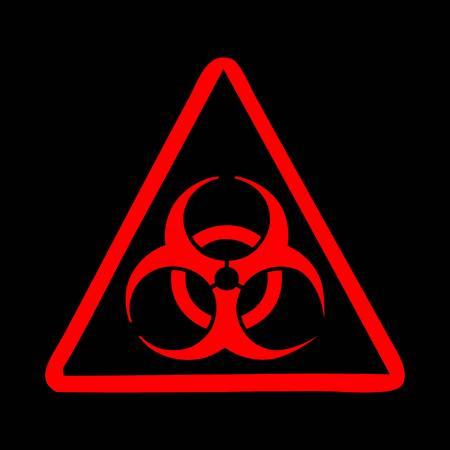 the bacteria signal: Radiation danger