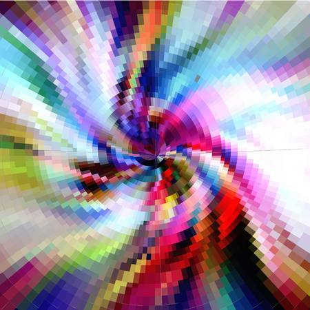 Colored whirlwind Vector