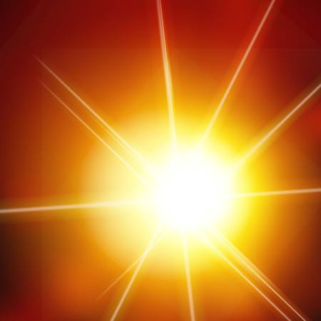 blinding: Summer  Vector background