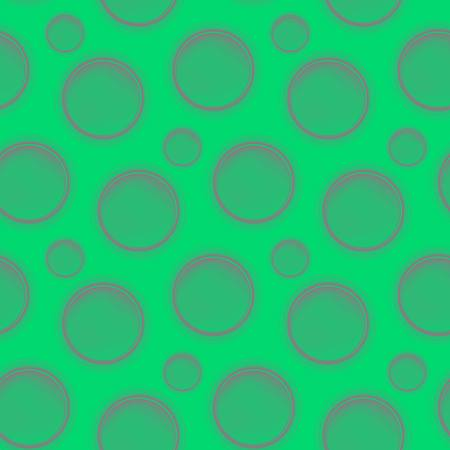 Abstract geometric seamless pattern with circles  Circular background  Geometry  Vector