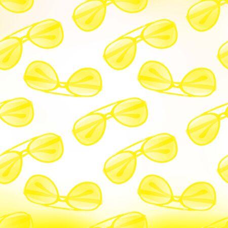 pattern sans soudure: Lunettes de soleil seamless Illustration