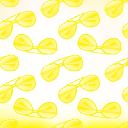 Sunglasses pattern seamless  Vector