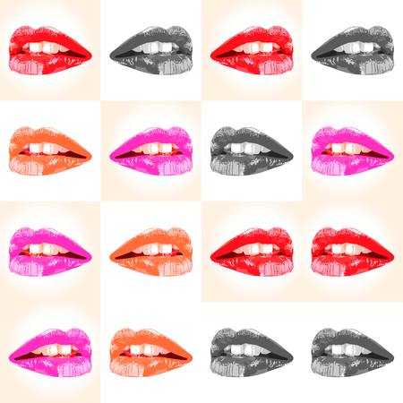 seductive: Seductive lips