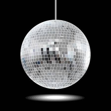 Disco ball Stock Illustratie