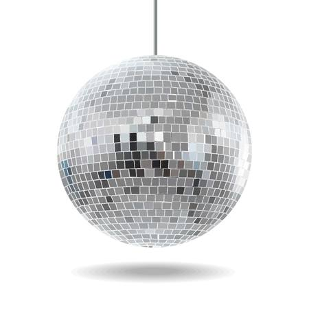 mirror ball: Bola de discoteca Vectores