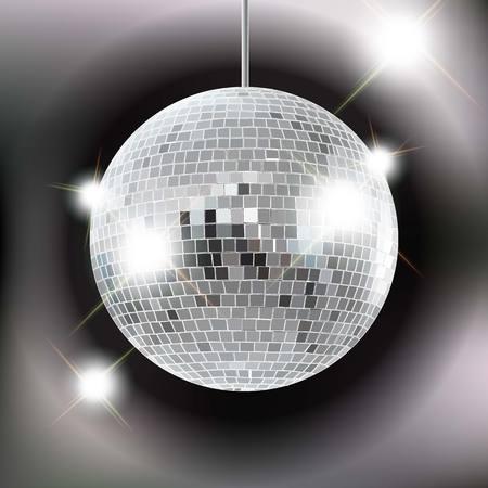 Disco ball Vettoriali