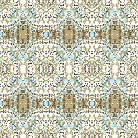 Seamless pattern in retro style Vector