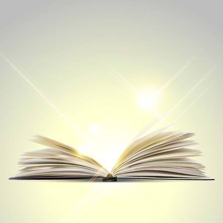 Open book Ilustrace