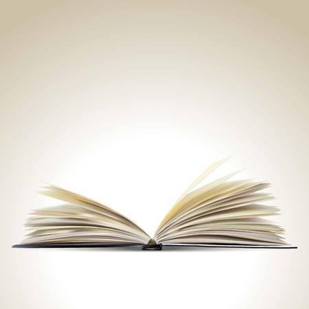 livre �cole: Livre ouvert Illustration