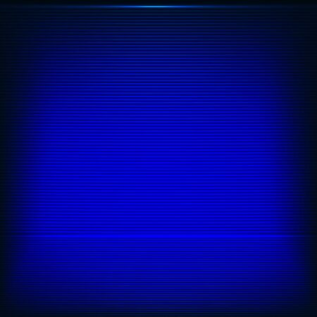 Abstract background with neon blue strips Vector