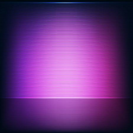 Abstract background with neon pink strips Vector