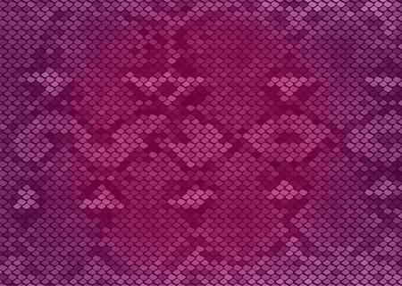 python: Pink python snake skin texture background.