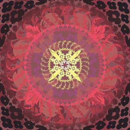 floral mandalas Vector