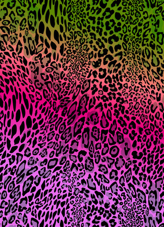colorful animal print seamless vector background