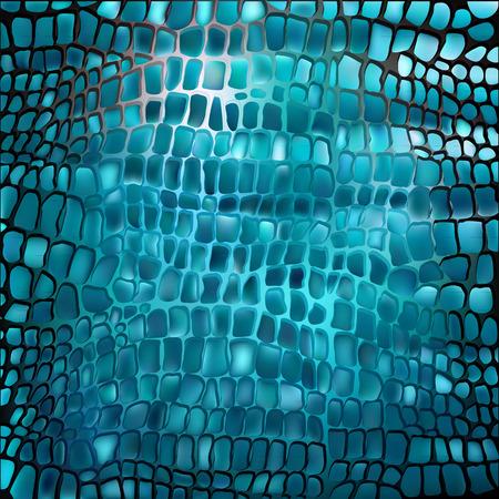 Nautical Muster inspiriert von tropischen Fischen Haut im Aquablau Farbe. Textur für Web, Print, Wallpaper, Wohnkultur, sommer fashion gewebe, Einladung oder Website Hintergrund. Marine Satz. Standard-Bild - 31046638