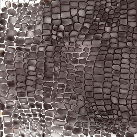 Reptile skin seamless vector pattern Vectores
