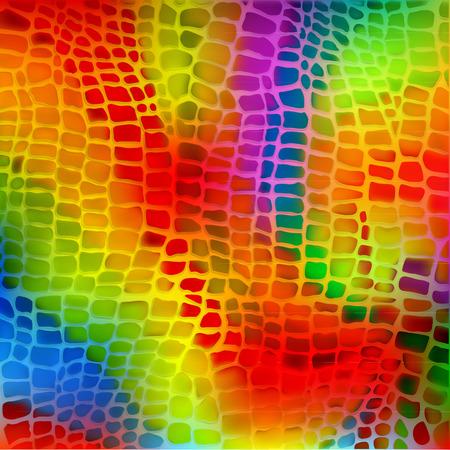 Neon-Schlange nahtlose Muster Fliese Standard-Bild - 31046704