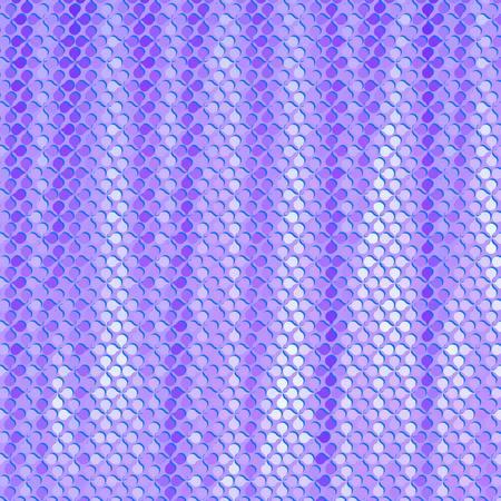 blanket fish: Simple geometric blobs enhanced double acid colored rainbow seamless  Illustration