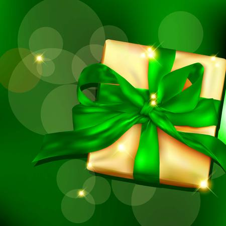 donative: Gift box with ribbon and bow.