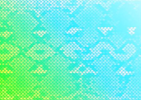 python: seamless pattern python skine Illustration