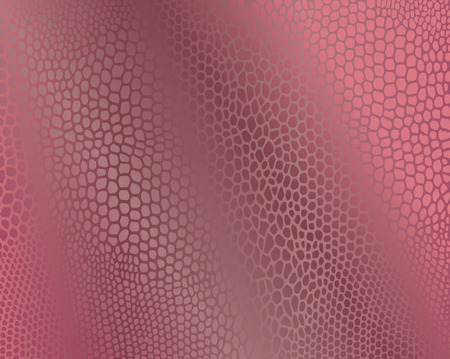 Pink snake skin imitation background.  Illustration