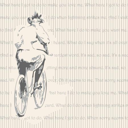 ragazza giovane bella: bella ragazza con la bicicletta.