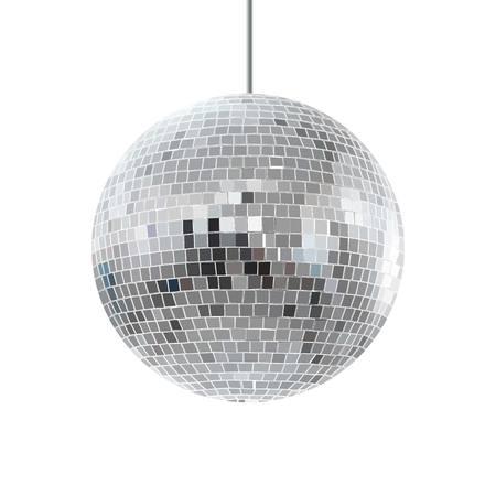 disco glanzende bal.