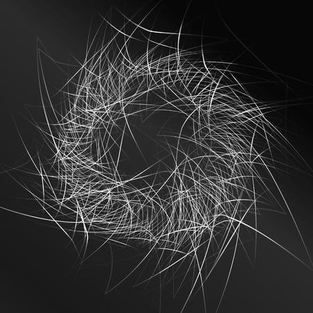 black pattern background. Stock Vector - 31689532