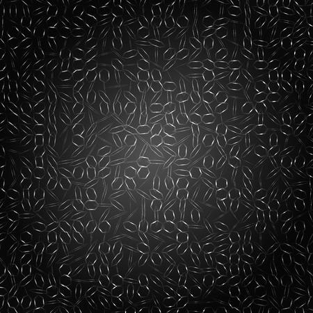 black pattern background. Stock Vector - 31689539