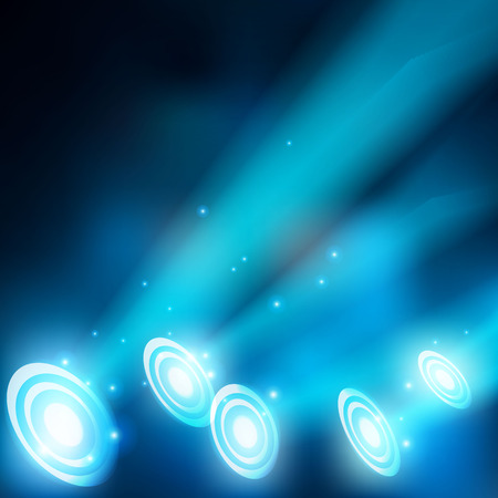 Abstract magic light background Ilustrace