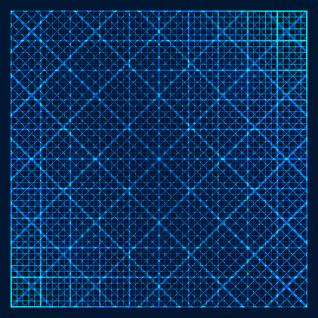 Metallic background with square pattern Illustration