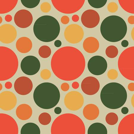 vector fabric: Vector fabric circles abstract seamless pattern background