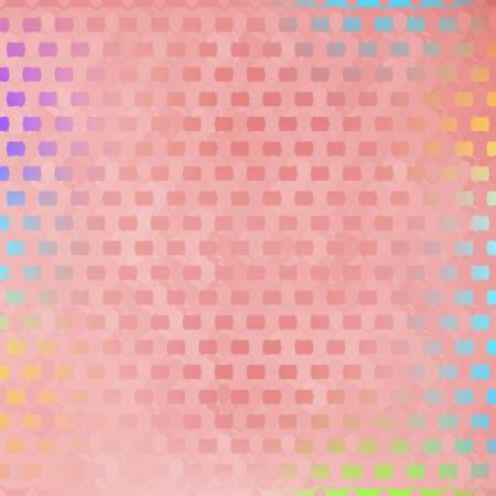 pink cell: Fondo abstracto del vector - Cool estructura celular de color rosa