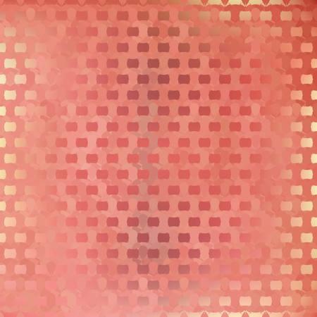 pink cell: Fondo abstracto del vector - Enfriar la estructura celular de color rosa Vectores
