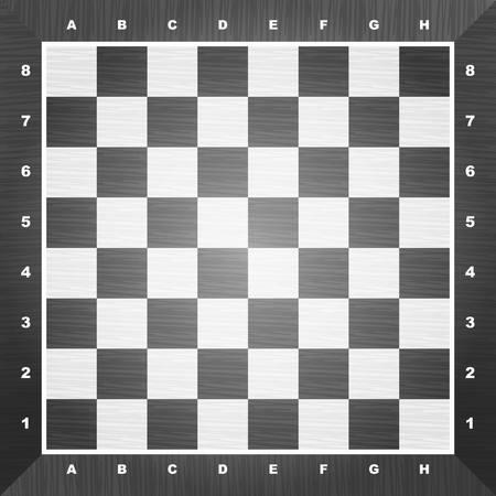 Empty chess board