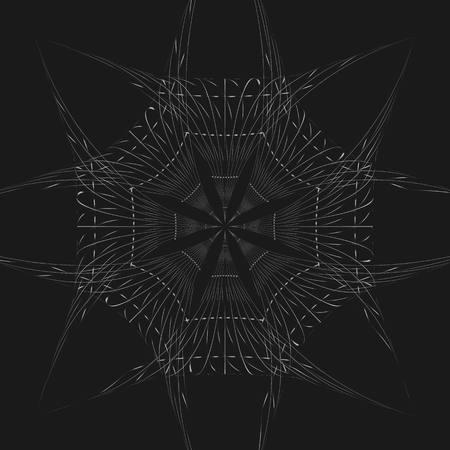 Black pattern background Stock Vector - 32045910