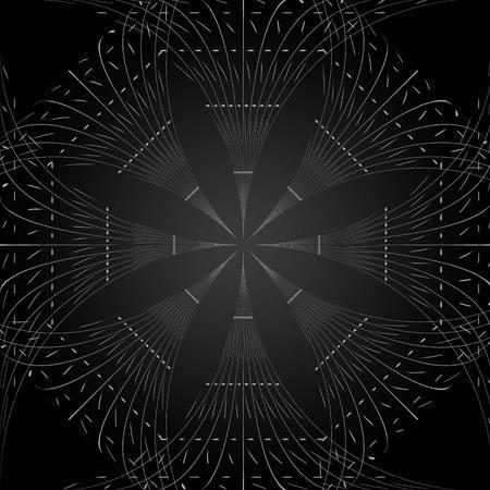 reticular: Black pattern background