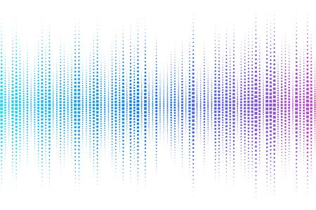 Equalizer digital. color vector illustration.  Vector
