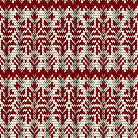 knitted background: Incons�til de la Navidad de punto de fondo.