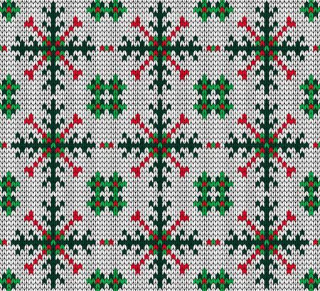 knitted background: Navidad de fondo sin fisuras de punto