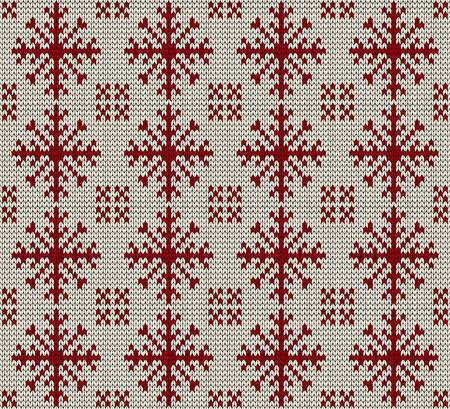 knitted background: Christmas seamless knitted background