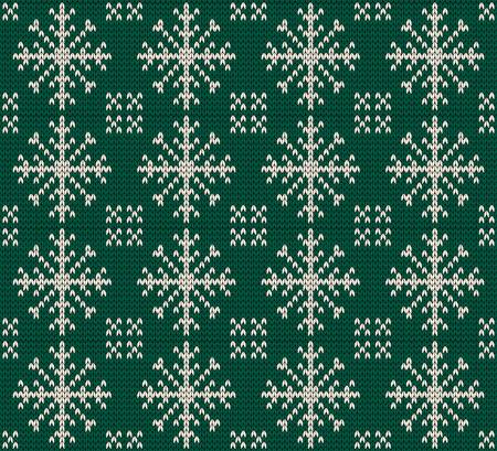 green carpet: Christmas seamless knitted background