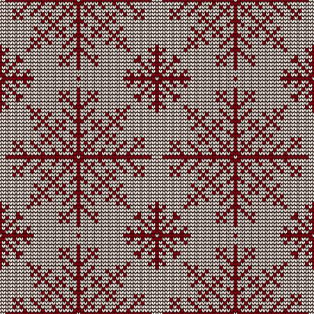 knitted background: Christmas seamless knitted background.