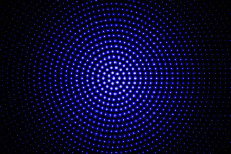 Blue glowing techno background