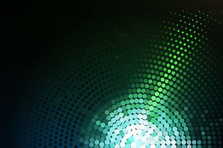 Grün leuchtende Techno Hintergrund Standard-Bild - 34466996