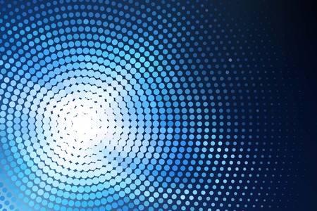 Blau leuchtende Techno Hintergrund Standard-Bild - 34467002