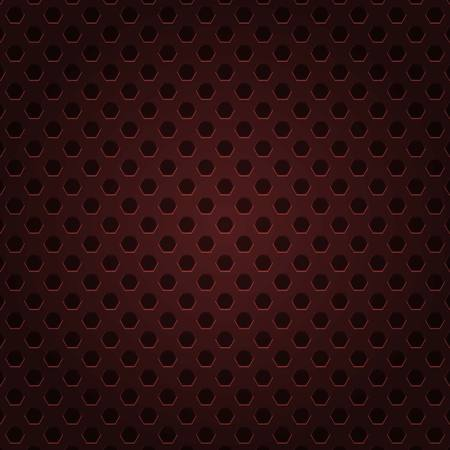red metal background vector