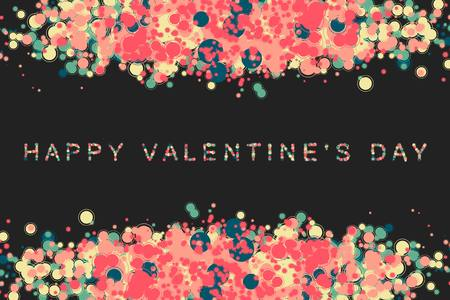 valentin: happy valentin day or Wedding vector background with hearts. 10 eps Illustration